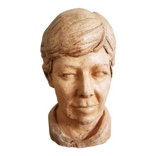 Man's Head Bust For Sale