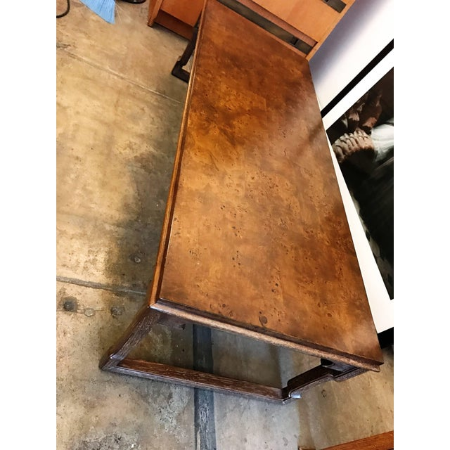 1960s American Tomlinson Walnut Coffee Table For Sale - Image 9 of 11