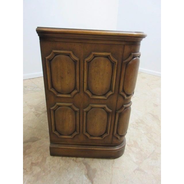 Brown Vintage Italian Regency Mastercraft Sideboard For Sale - Image 8 of 11