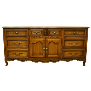 Dixie Furniture Country French Provincial Dresser For Sale