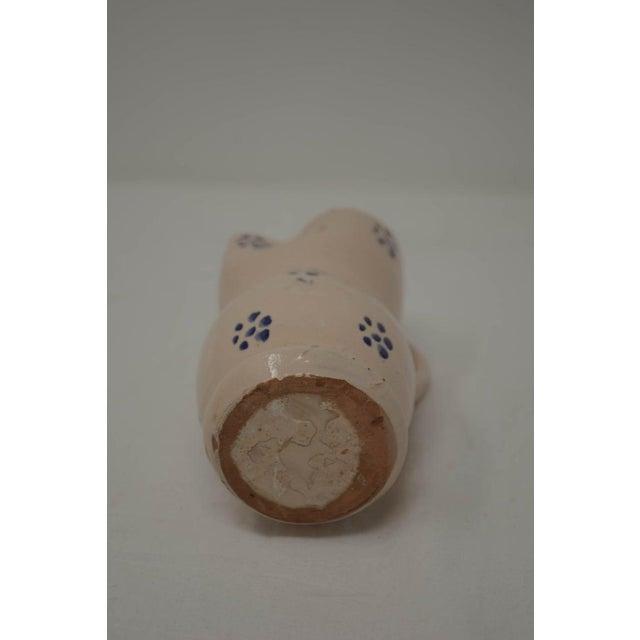 Italian Vintage Puglia Apulia Italy Ceramic Pitcher For Sale - Image 3 of 7