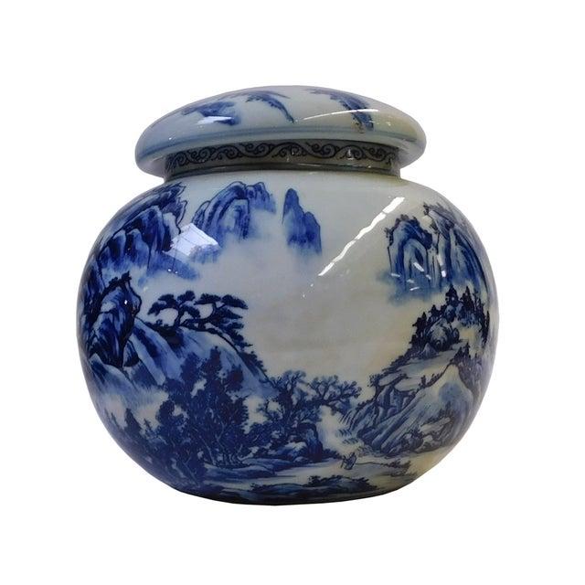 Chinese Blue & White Porcelain Scenery Bowl - Image 3 of 6