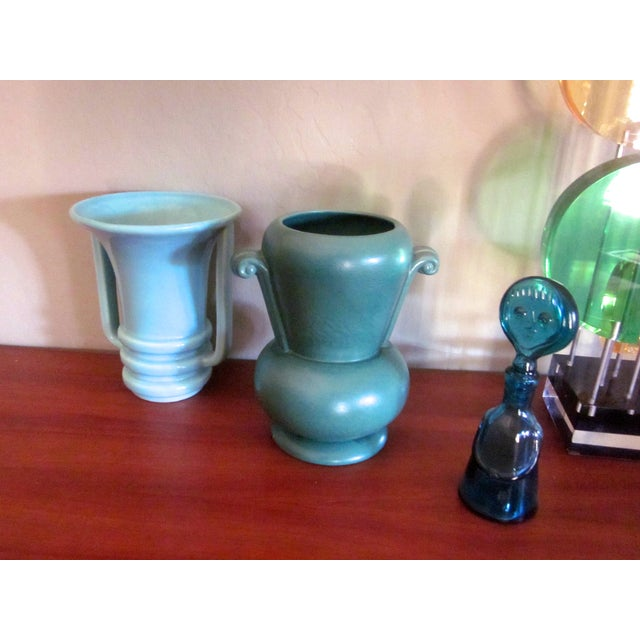 Mid-Century Modernist Pottery Vases - Set of 3 - Image 3 of 10