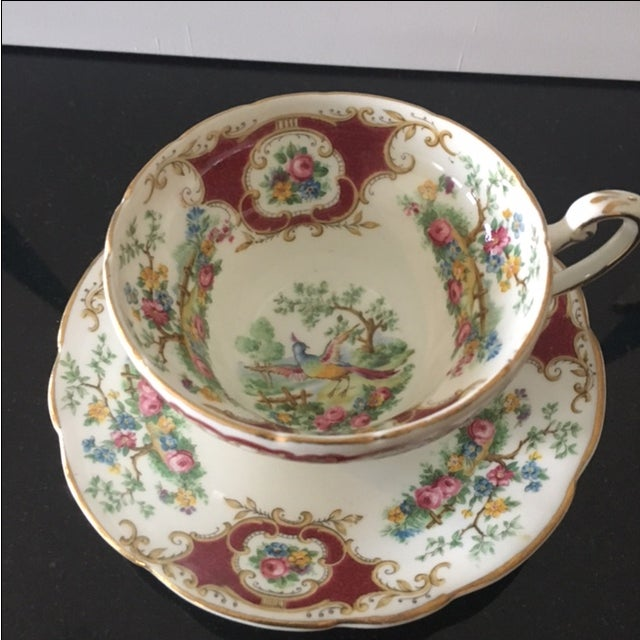Foley China Tea Cup and Saucer - Image 3 of 6