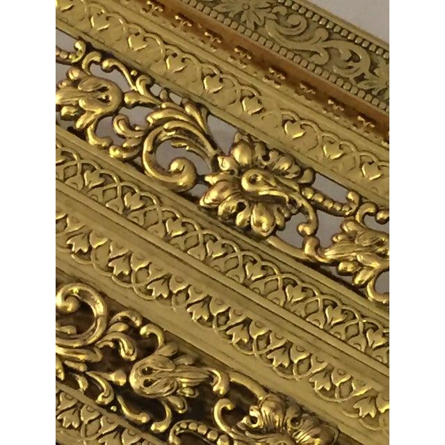 Gold Filligree Tissue Box - Image 3 of 4