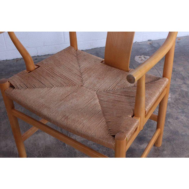 Tan Six Chinese Chairs by Hans Wegner for PP Mobler For Sale - Image 8 of 11