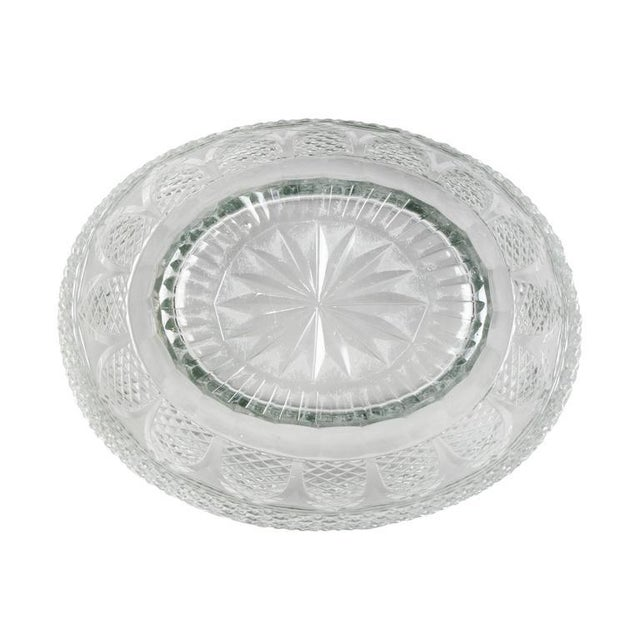 Anglo Irish Cut-Glass Covered Tureen and Underplate For Sale - Image 9 of 10