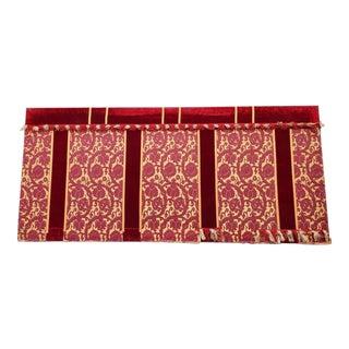 Monumental Antique Italian Altar Tapestry Panel For Sale