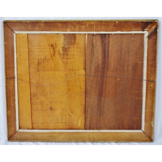 """Vintage Gold Gilt Framed Renoir """"Boating on the Seine"""" Print on Board For Sale - Image 12 of 13"""