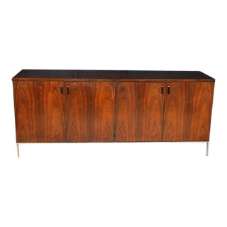 Mid Century Rosewood Sideboard Harvey Probber Style For Sale