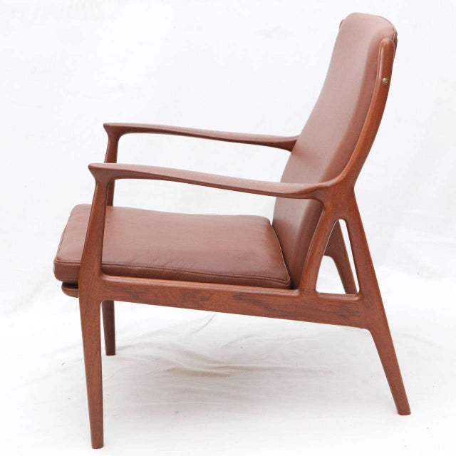 Pair of S. A. Andersen Lounge Chairs - Image 6 of 10