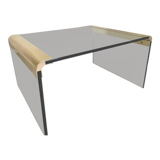 Mid-Century Modern Pace Collection by Leon Rosen Waterfall Side Table For Sale