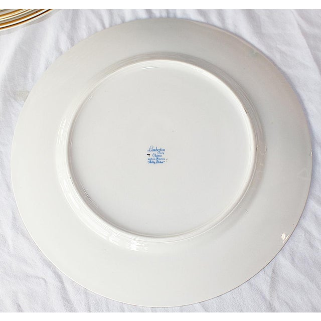 Dinner Plates by Lamberton, Molly Pitcher - Set of 6 For Sale In West Palm - Image 6 of 8
