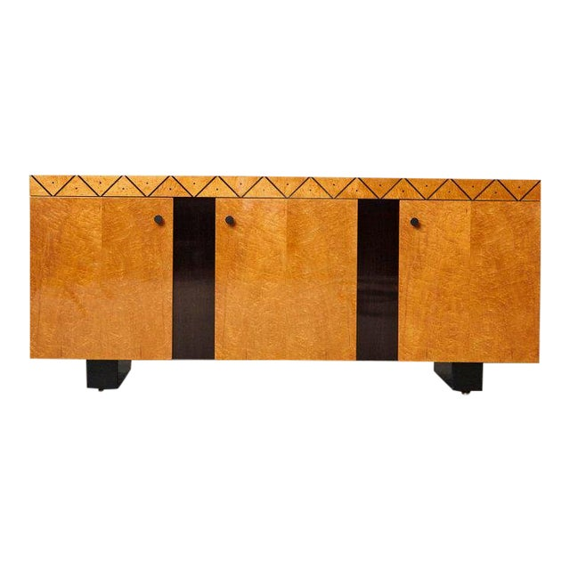Pace 'Boca' Collection Memphis Style Inspired Lacquered Credenza For Sale