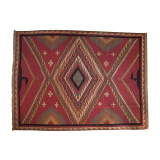 """Vintage Indian Caucasian Soumac Design Carpet - 10'1"""" X 13'6"""" For Sale"""