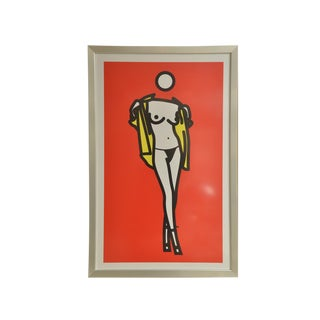 """Woman Taking Off Mans Shirt"" by Julian Opie For Sale"