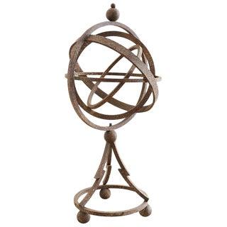 Iron Garden Armillary Sphere or Globe