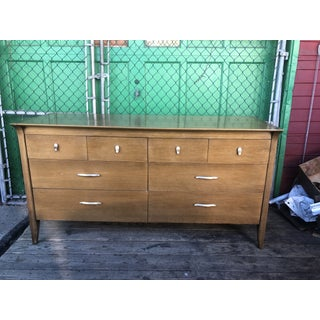 1960s Mid Century 8 Drawer Dresser Profile by Drexel Preview