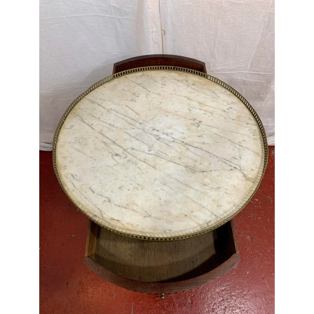 Brown Louis XVI Style Gueriodon Table For Sale - Image 8 of 9
