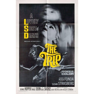 The Trip 1967 U.S. One Sheet Film Poster For Sale