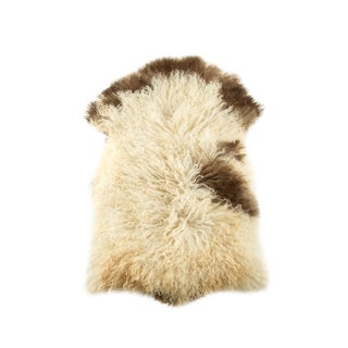 "2010's Modern Natural Sheepskin Pelt - 2'0""x3'2"" For Sale"
