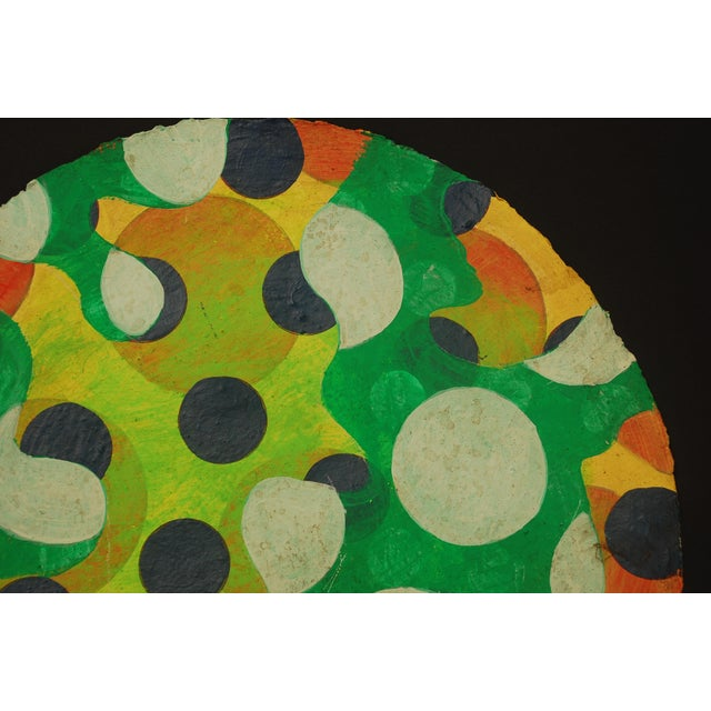 Tondo 1 Abstract Painting - Image 4 of 4