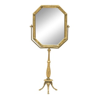 French Dressing Mirror on Stand For Sale