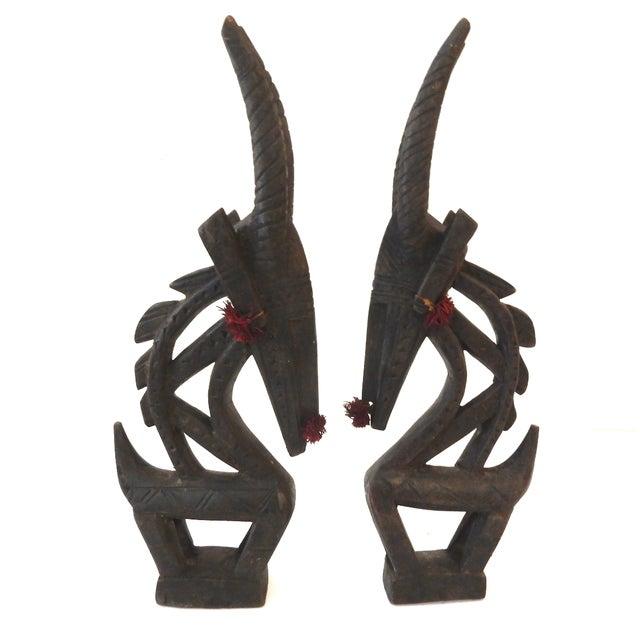 Bambara Chiwaras Male & Female Kids Masks - Pair - Image 1 of 6
