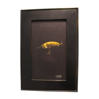 Yellow Lure Print by David Tuck For Sale