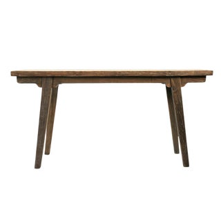 Old Elm Wood Farm Console For Sale
