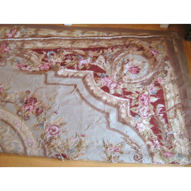 "French Aubusson Rug - 8' x 10"" - Image 3 of 9"