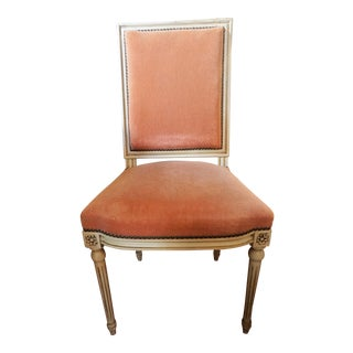 Set of Six Louis XVI Style Dining Chairs For Sale