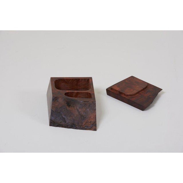 Arts & Crafts Studio Box by American Craftsman Michael Elkan, Us 'No 4' For Sale - Image 3 of 7