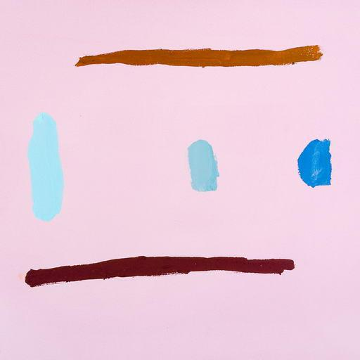 """Abstract Laura Newman """"Five Marks"""", Painting For Sale - Image 3 of 4"""