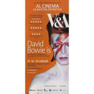 David Bowie Is 2016 Italian Locandina Exhibition Poster For Sale