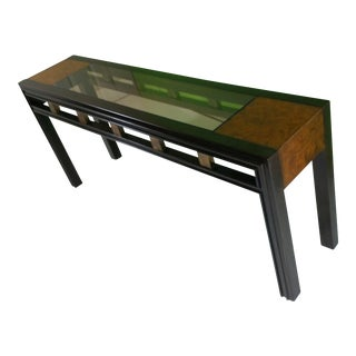 Mid-Century Mastercraft Console Table For Sale