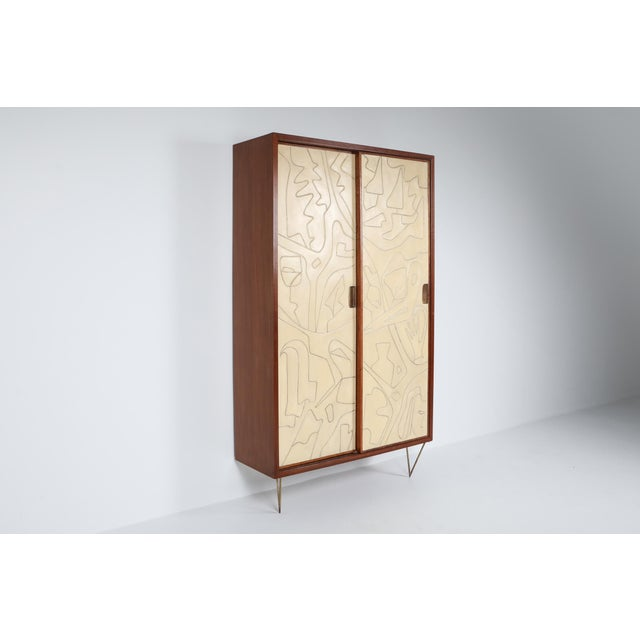 1950s Victor Cerrato One-Of-A-Kind Case Piece - 1950's For Sale - Image 5 of 8