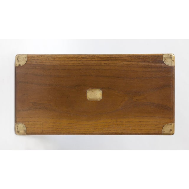 Antique Chinese Small Camphor Wood Chest For Sale - Image 4 of 9