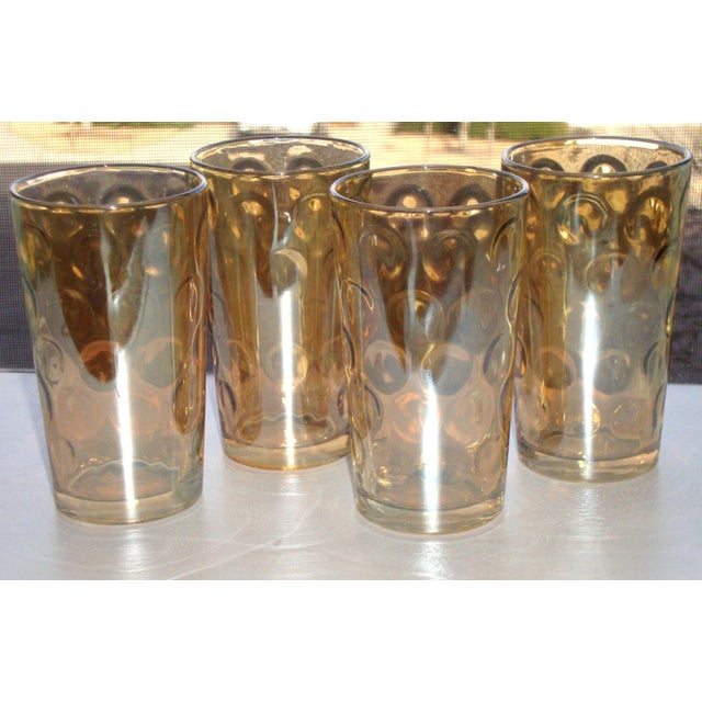 Mid-Century Hollywood Regency High Ball Glasses - Image 11 of 11