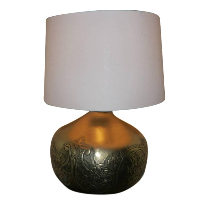 Brass Table Lamp - Image 1 of 3