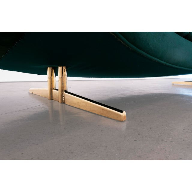 "Brass Johannes Anderson, ""Capri"" Sofa, C. 1950 - 1959 For Sale - Image 7 of 10"