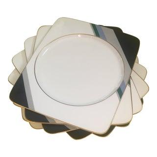 1980s Daniel Hechter Dinner Plates - Set of 8 For Sale