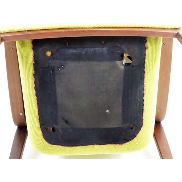 1970s Vintage Bill Stephens For Knoll International Club Lounge Chair For Sale - Image 11 of 12