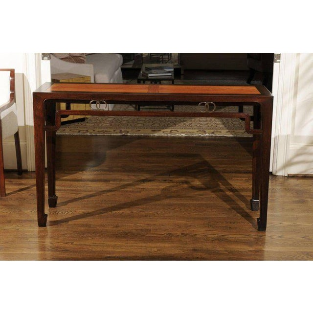 Stunning Restored Altar Console Table by Michael Taylor for Baker, Circa 1970 For Sale - Image 10 of 11