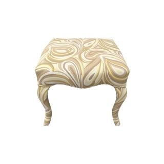 Upholstered Funky Stool