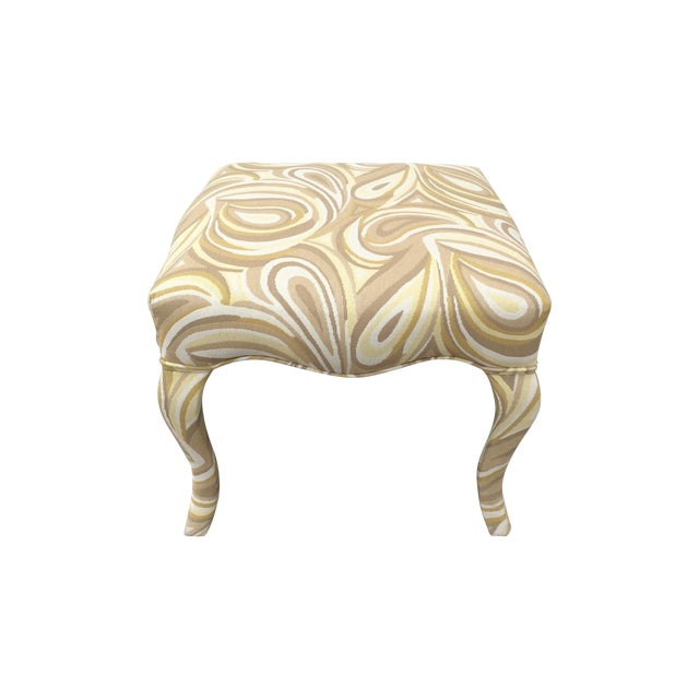 Upholstered Funky Stool For Sale