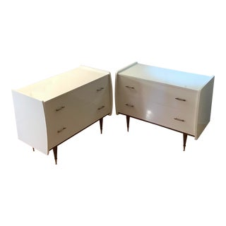 1950's Italian Chest Manner of Gio Ponti - a Pair For Sale
