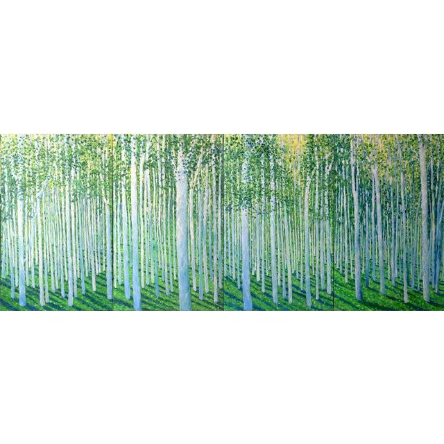 High Summer Tree Meditation Quad - Image 1 of 10