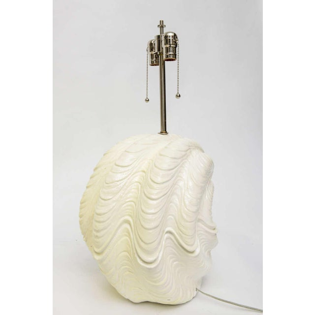 Serge Roche Shell Lamps, Oversized from the 1960s For Sale - Image 9 of 9