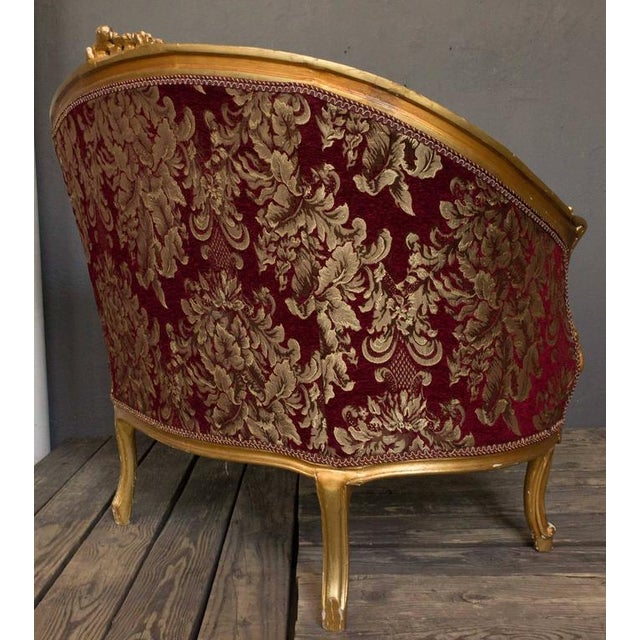 Gilt Rococo Style Marquise - Image 4 of 10